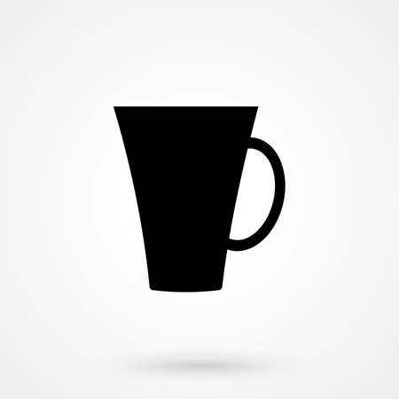Coffee cup icon Фото со стока - 90037567