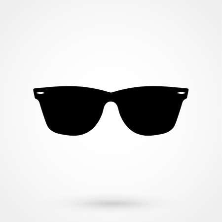 Sunglasses Icon isolated on background