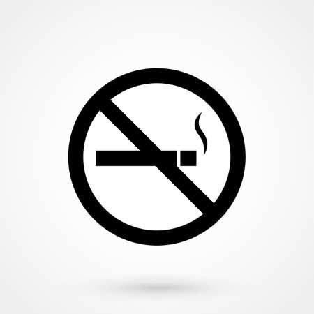 Niet roken symbool Stock Illustratie