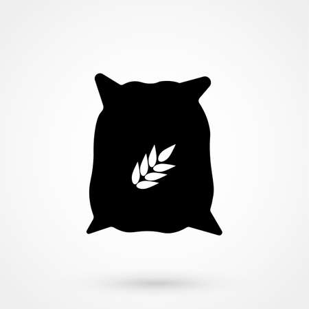 Seed sack icon design element.