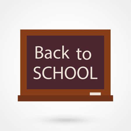 schoolbus: Back to school illustration.