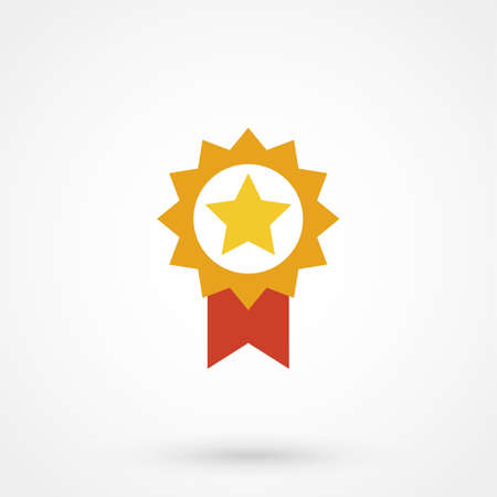 Guarantee icon from Competition & Success Bicolor Icon Set. This isolated flat symbol