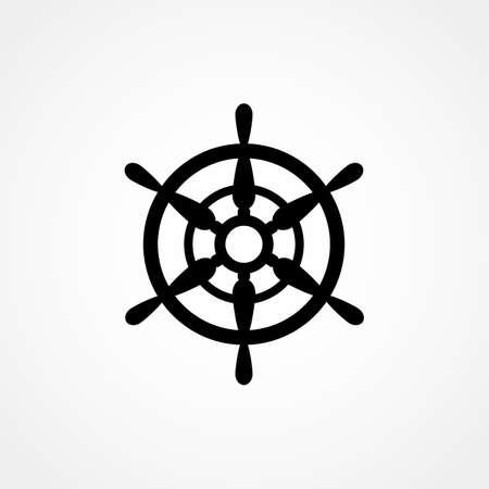 caribbean cruise: Ships Wheel icon