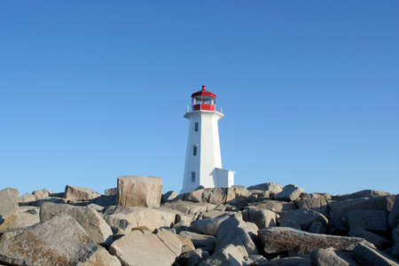 coasts: Lighthouse at Peggys Cove