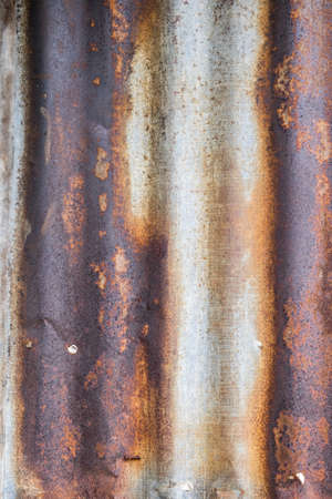 foundry: old rusty galvanized zinc. texture background