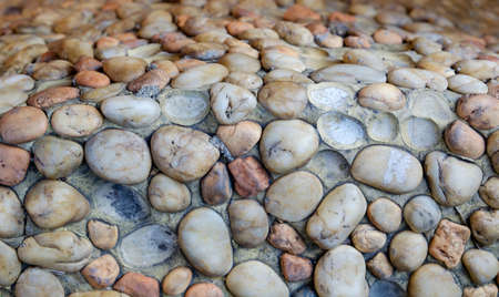 Background texture of sea stone wall Stock Photo