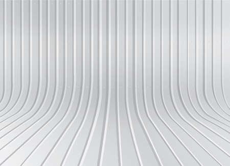 corrugated steel: zinc background Illustration