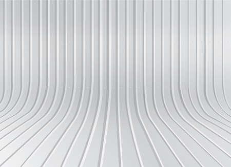 corrugated steel: zinc background Illustration