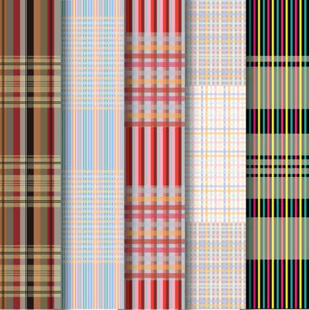 loincloth: Thai loincloth pattern Illustration