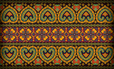 sarong: Thai patten sarong Illustration