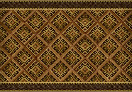 Vector pattern: Nghệ thuật Thái Lan mô hình vector
