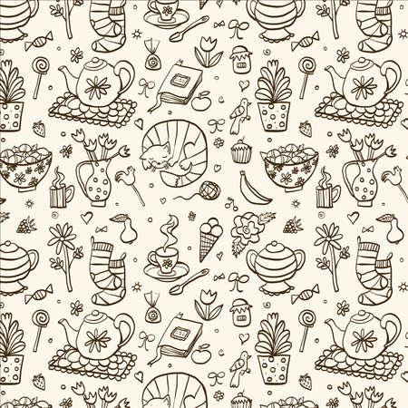 Tea time pattern.