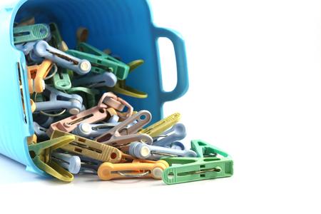 muti: Muti color clothspin in the basket