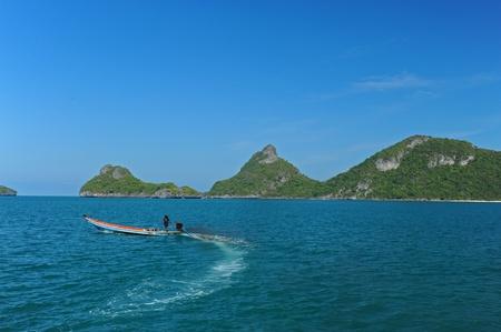 Boat & Sea Stock Photo