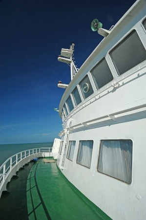 Front balcony  of ferry