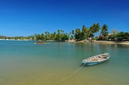 Boat & Sea,Samui island