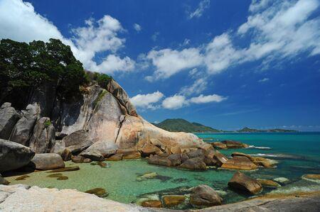 Bizzare rock , Samui island