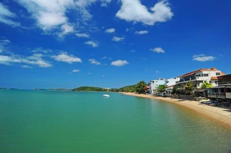 House on beach, Samui island, Thailand