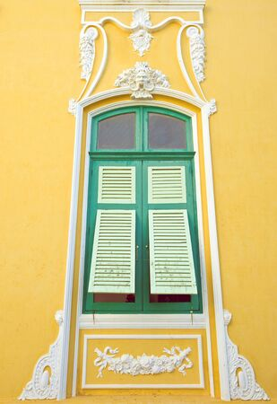 Baroque style window photo