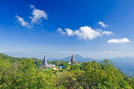 Place leisure travel, Doi Inthanon national park of Thailand  Stock Photo