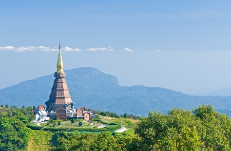 Place leisure travel, Doi Inthanon national park of Thailand  Stock Photo - 12390978