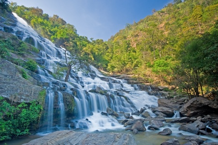 Maeya waterfall in Doi Inthanon National Park, Thailand