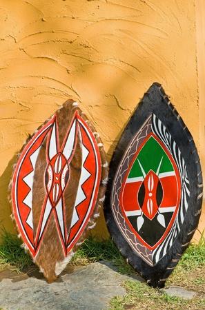 arte africano: Escudo de �frica