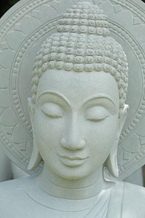 Head of buddha statue  photo