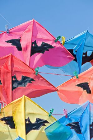 Group of colorful kite  Stock Photo