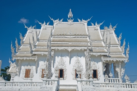 Wat Rongkun - the white temple in Chiangrai , Thailand