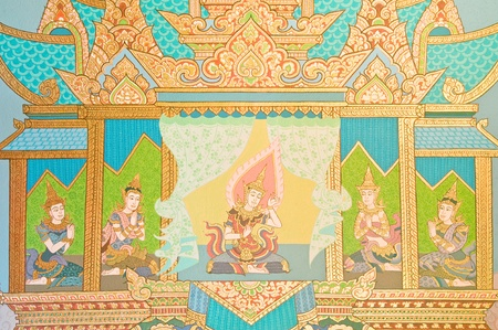 Thai temple murals