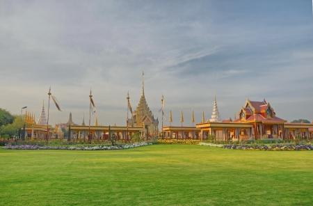 Thai royal funeral in bangkok, Thailand