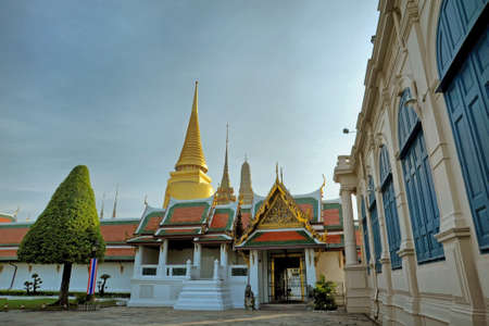 Grand Palace   Wat Phra Kaew Temple , Bangkok, Thailand  Stock Photo - 14005574
