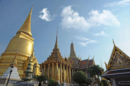 Grand Palace   Wat Phra Kaew Temple , Bangkok, Thailand  Stock Photo - 14005571