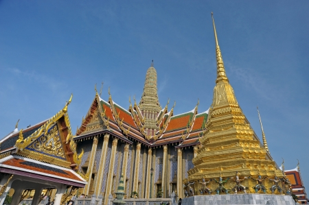 Grand Palace   Wat Phra Kaew Temple , Bangkok, Thailand  Stock Photo - 14005598