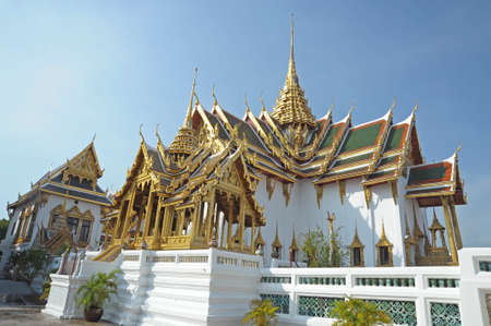Traditional Thai architecture, Grand Palace, Bangkok  Stock Photo - 14137870