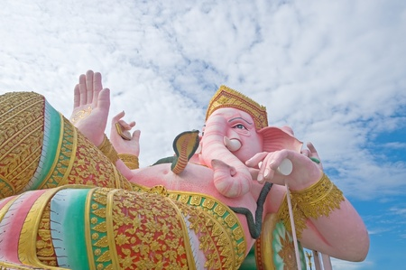 Ganesha statue,Thailand photo