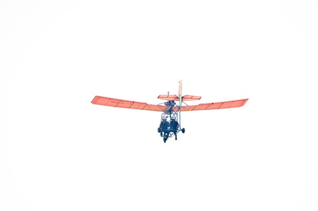 Paraplane isolated on white background