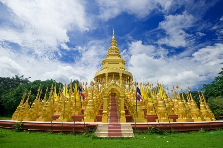 Top five hundred pagodas at beautiful in the Wat pasawangboon Saraburi, Thailand Stock Photo - 15313002