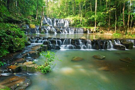 Khao sam lan waterfall in Khao sam lan national park, Thailand