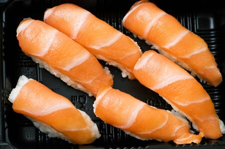 Japanese sushi seafood Stock Photo - 18423091