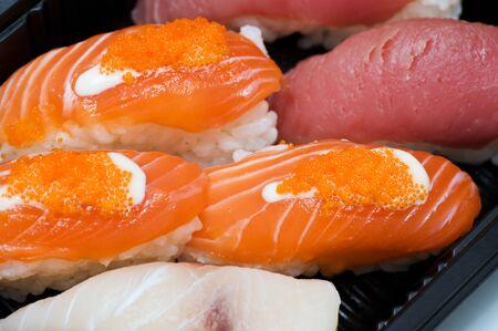 Japanese sushi seafood Stock Photo - 18424393