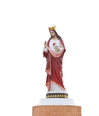 Statues of Holy Men in Roman Catholic Church, Thailand