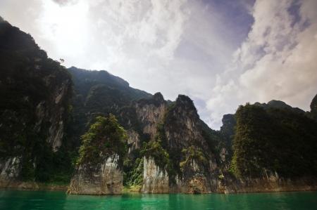 Chiao Lan Lake at Khao Sok National Park, Thailand