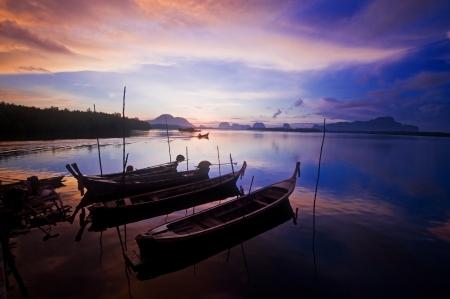 Sunrise in Phang Nga ,Thailand  Stock Photo