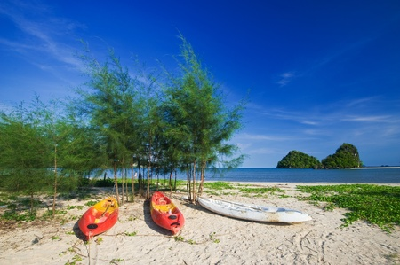 Railay beach in Krabi, Thailand