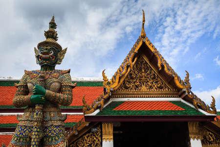Wat Phra Kaew: Giant in Wat Phra Kaew.