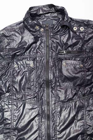 leather jacket: black leather jacket full zip