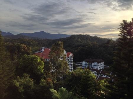titiwangsa: A view part of malaysian tropical titiwangsa range