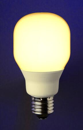 sparingly: Energy saving lamp